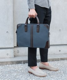 ZARIO/バッグ 薄い ビジネスバッグ メンズ 薄マチ 軽量 二層収納 通勤バッグ A4対応 ダブルファスナー 2way ブリーフケース/501510963