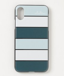 Clelia/iPhoneケース iPhoneXケース iPhoneXsケース スマホケース レディース ボーダー ストライプ/501511029