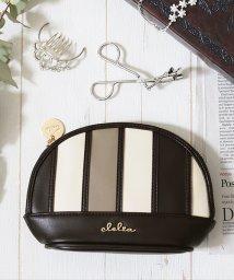 Clelia/化粧ポーチ 軽い バッグインバッグ メイクポーチ 収納 小物入れ コスメ/501511032