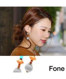 fone/Fone モダンピアス  GRAY 17SU-I/501511796