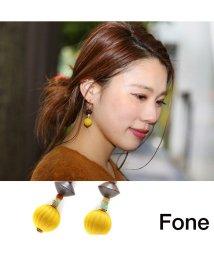 fone/Fone モダンピアス  YELLOW 17SU-I/501511797