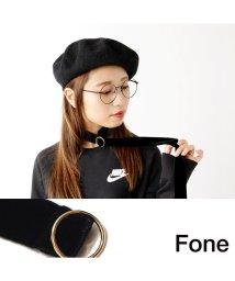 fone/Fone ベルベットチョーカー  BLACK 17SU-I/501511838