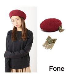 fone/Fone アーミーベレー  RED 17SU-I/501511870