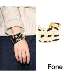 fone/Fone メタル バングル  GOLD 17FA-I/501511924
