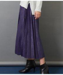 Settimissimo/エコレザープリーツスカート/501512509