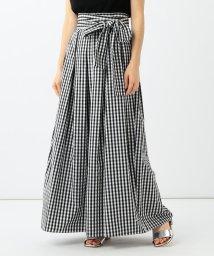 Demi-Luxe BEAMS/Demi-Luxe BEAMS / ギンガムチェック ロングスカート/501514893