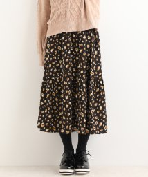 MAJESTIC LEGON/裾ギャザーロングスカート/501374501