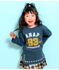 ANAP KIDS/裾ホシプリントスリットチュニック/501507056