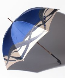 LANVIN Collection(umbrella)/LANVIN COLLECTION 婦人 長傘 Pウーリーサテンインクジェットプリント/501507993