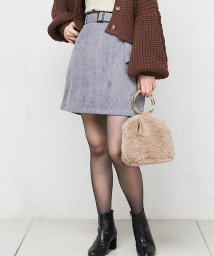 NICE CLAUP OUTLET/【natural couture】コール天ミニ/501509780