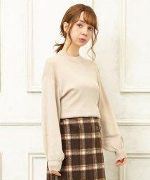 INGNI/Gボリューム袖つまり衿ニット/501511173