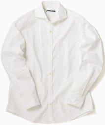 SHIPS MEN/SC: ドビー ドット セミワイドカラー シャツ/501515721