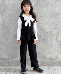 子供服Bee/リボンシャツ付きセットアップ/501516170