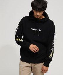 BASECONTROL/【WEB限定】マークゴンザレス別注 袖ロゴ プルパーカー/501516465