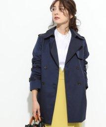 ViS/【花粉ガード&撥水加工】ショートトレンチコート/501516472