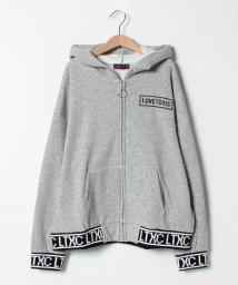 Lovetoxic/裏シャギーロゴ入りフルジップパーカー/501505058