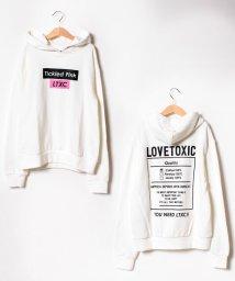 Lovetoxic/バックプリント裏毛パーカー/501505070