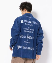 LHP/Dankeschon/ダンケシェーン/コーデュロイBIGシャツ/501516663