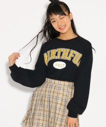 PINK-latte/起毛ワッフル トップス/501517137
