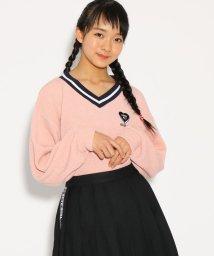 PINK-latte/★ニコラ掲載★サカリバVネック トップス/501517138