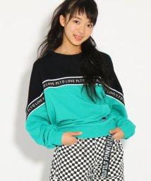 PINK-latte/ロゴテープ切替 トップス/501517139