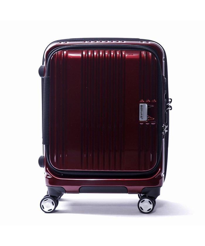 ギャレリア バーマス スーツケース BERMAS EURO CITY ユーロシティ 機内持ち込み 38L 60290 ユニセックス レッド F 【GALLERIA】