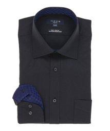 TAKA-Q/形態安定スリムフィットワイドカラー長袖ビジネスドレスシャツ/501303111