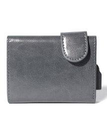 SELECT/〈CARDHODA/カードホダ〉Card Protector Wallet / スライド式アルミニウムカードケース付レザーウォレット/501508993
