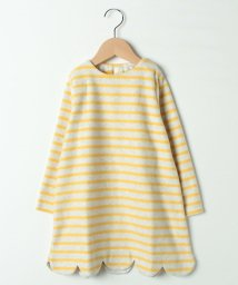 LAGOM/起毛ボーダーワンピース/501511300