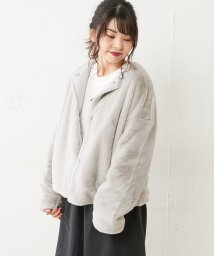 NICE CLAUP OUTLET/フェイクファージャケット/501513139