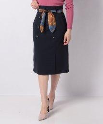 JUSGLITTY/スカーフベルト付トレンチスカート/501518370