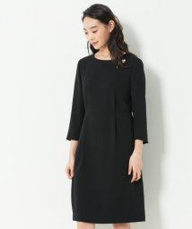 NIJYUSANKU/【洗える】トリアセダブルジョーゼット ワンピース/501518416