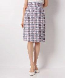 Apuweiser-riche/トリコロールツイードタイトスカート/501518555