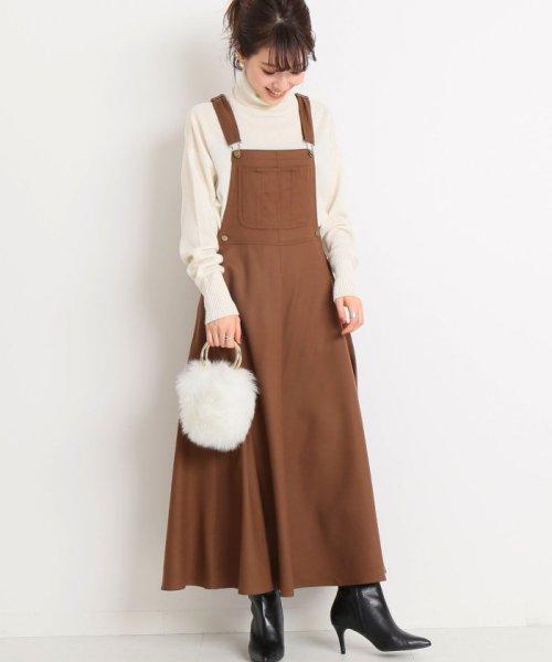 Spick & Span(スピック&スパン)/【MITTERNACHT】 マキシジャンパースカート◆/18040210004530
