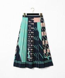 GRACE CONTINENTAL/スカーフプリーツスカート/501518941
