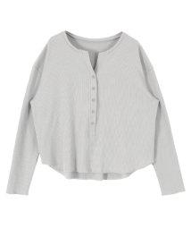 titivate/ヘンリーネック長袖Tシャツ/501487473