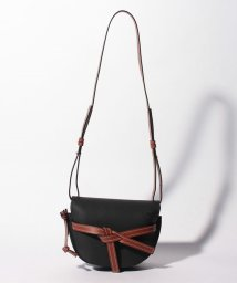 LOEWE/【LOEWE】ショルダーバッグ/GATE SMALL【BLACK/PECAN COLOR】/501504901