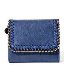 Stella McCartney/【STELLA McCARTNEY】3つ折り財布/SMALL FLAP WALLET  FALABELLA【BLUEBIRD】/501514156