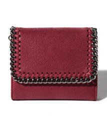 Stella McCartney/【STELLA McCARTNEY】3つ折り財布/SMALL FLAP WALLET  FALABELLA【OPERA RED】/501514157