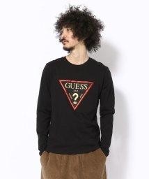 LHP/GUESS/ゲス/トライアングルロゴ ロングスリーブTシャツ/501518986