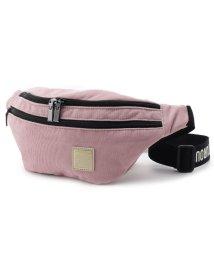 pink adobe/コーデュロイ ボディバッグ/501520150
