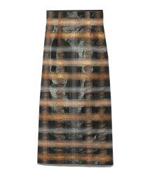FURFUR/ラメジャガードタイトスカート/501520639