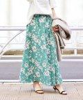 IENA/Deveaux  フラワープリントスカート◆/501485976