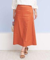 Rouge vif la cle/セミフレアリネンタイトスカート/501522532