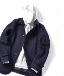 SHIPS JET BLUE/SHIPS JET BLUE: メルトン シングルPコート/501522749