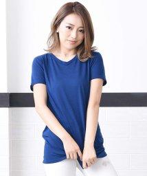 Girly Doll/VネックTシャツ(ゆったりタイプ)さらっと着れる☆〇Tシャツ/501506508