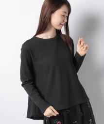 petit main LIEN/ワッフルクルーネックTシャツ/501515786
