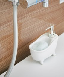 En Fance/ソープディスペンサー「bathtub(バスタブ)」 ホワイト/501522235