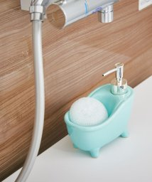 En Fance/ソープディスペンサー「bathtub(バスタブ)」 ブルー/501522238