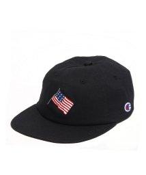 Champion/CHAMPION AMERICAN FLAG 6-PANEL  BLACK/501523336